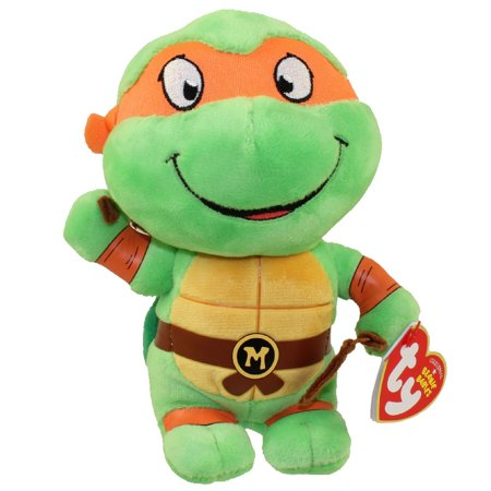 e46f6b093cd TY Beanie Baby - MICHELANGELO (Teenage Mutant Ninja Turtles) - Walmart.com