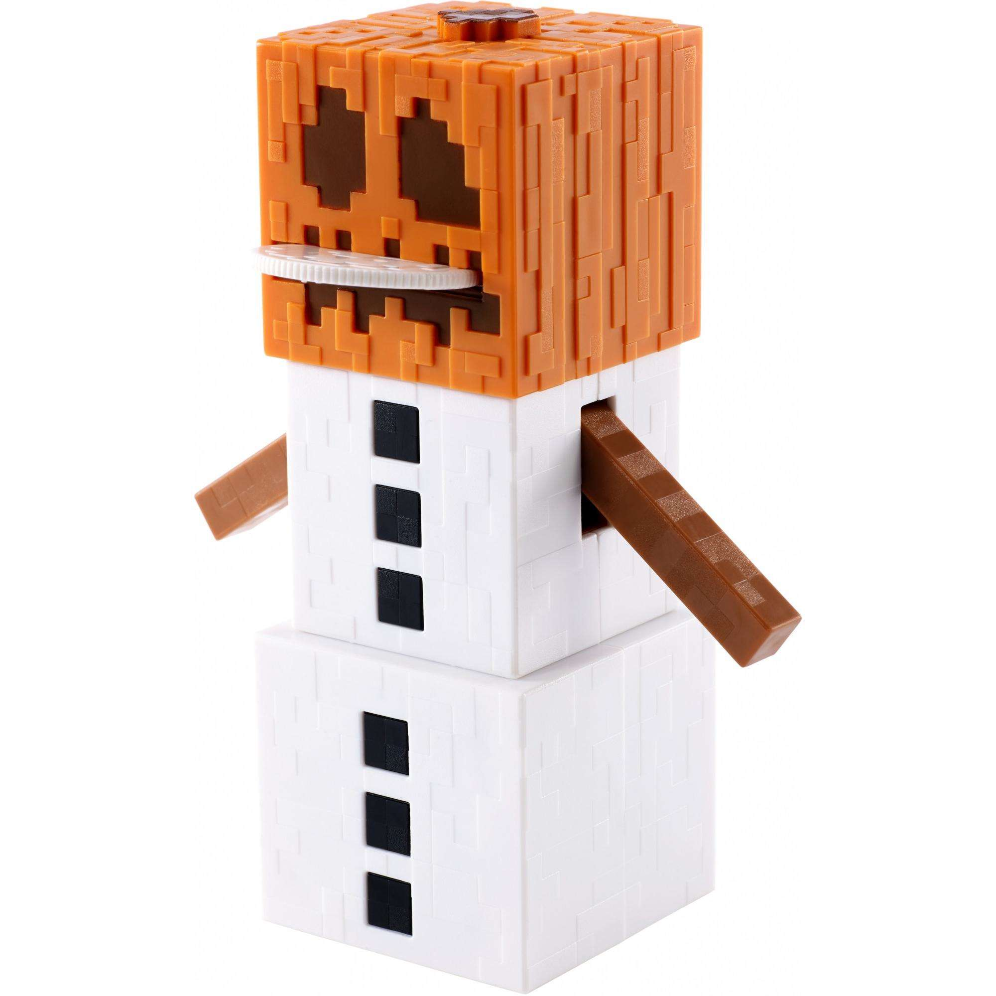 Minecraft Snow Golem Figure by Mattel