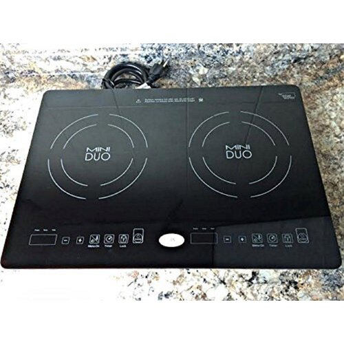 True Induction 21'' Induction Cooktop with 2 Burners