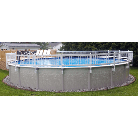 24 Inch Vinyl Works Above Ground Pool Fence Section Removal Kit