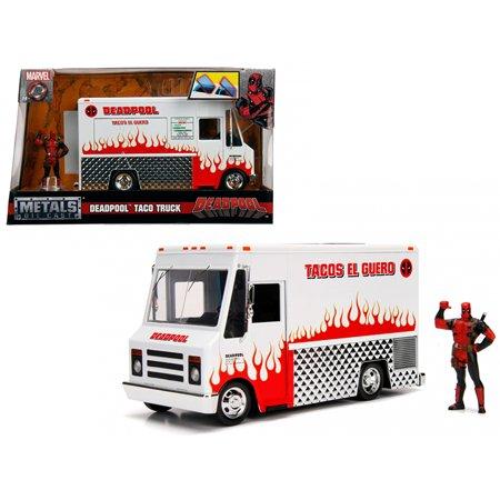 Deadpool Taco Truck with Deadpool Diecast Figure