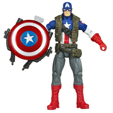 Marvel Comic Series Super Shield Captain America Action