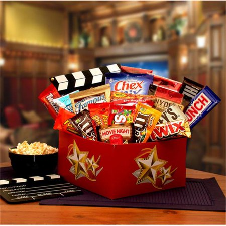 Gift Basket Drop Shipping 820672 It's A Red Box Night Gift Box with Red Box Gift Card