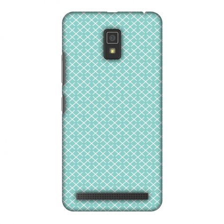 Pastel Checker - Lenovo A6600 Plus Case, Lenovo A6600 Case - Checkered In Pastel, Hard Plastic Back Cover. Slim Profile Cute Printed Designer Snap on Case with Screen Cleaning Kit