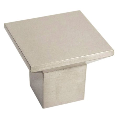 Design House 205179 Cubist Cabinet Knob, Brushed Nickel
