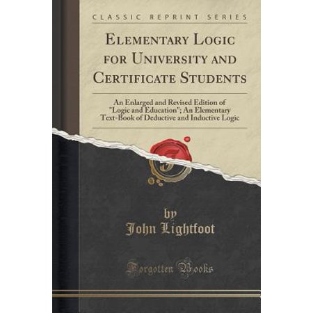 Halloween Art Projects For Elementary Students (Elementary Logic for University and Certificate Students : An Enlarged and Revised Edition of Logic and Education; An Elementary Text-Book of Deductive and Inductive Logic (Classic)