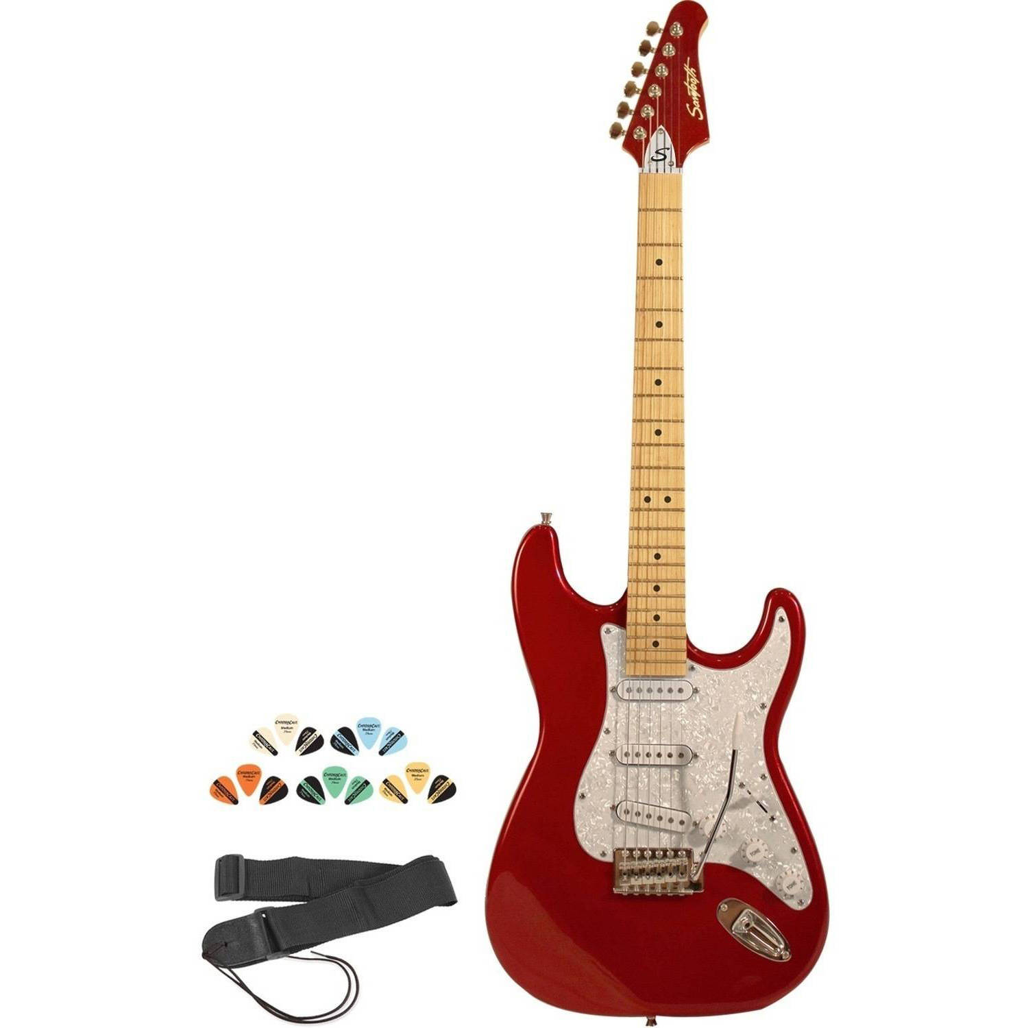 Sawtooth ES Series Electric Guitar Kit with ChromaCast Accessories
