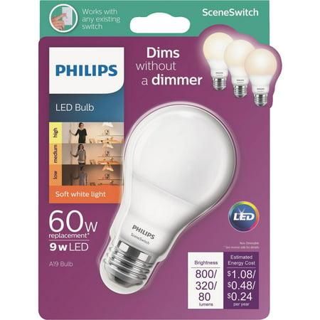 Philips Lighting Co 9w A19 Sw Sswch LED Bulb