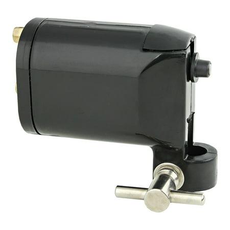 Black Rotary Motor Tattoo Machine Gun Supply Lightweight for Liner & Shader