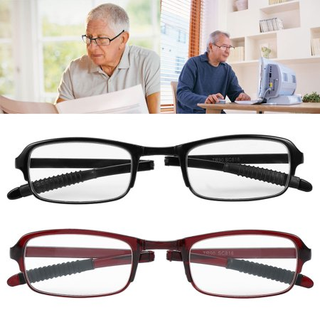 Eyeglasses With Lights (1.0/1.5/2.0/2.5/3.0/3.5/4.0 Compact Folding Reading Glasses, Portable Lightweight Reading Presbyopic Glass,)
