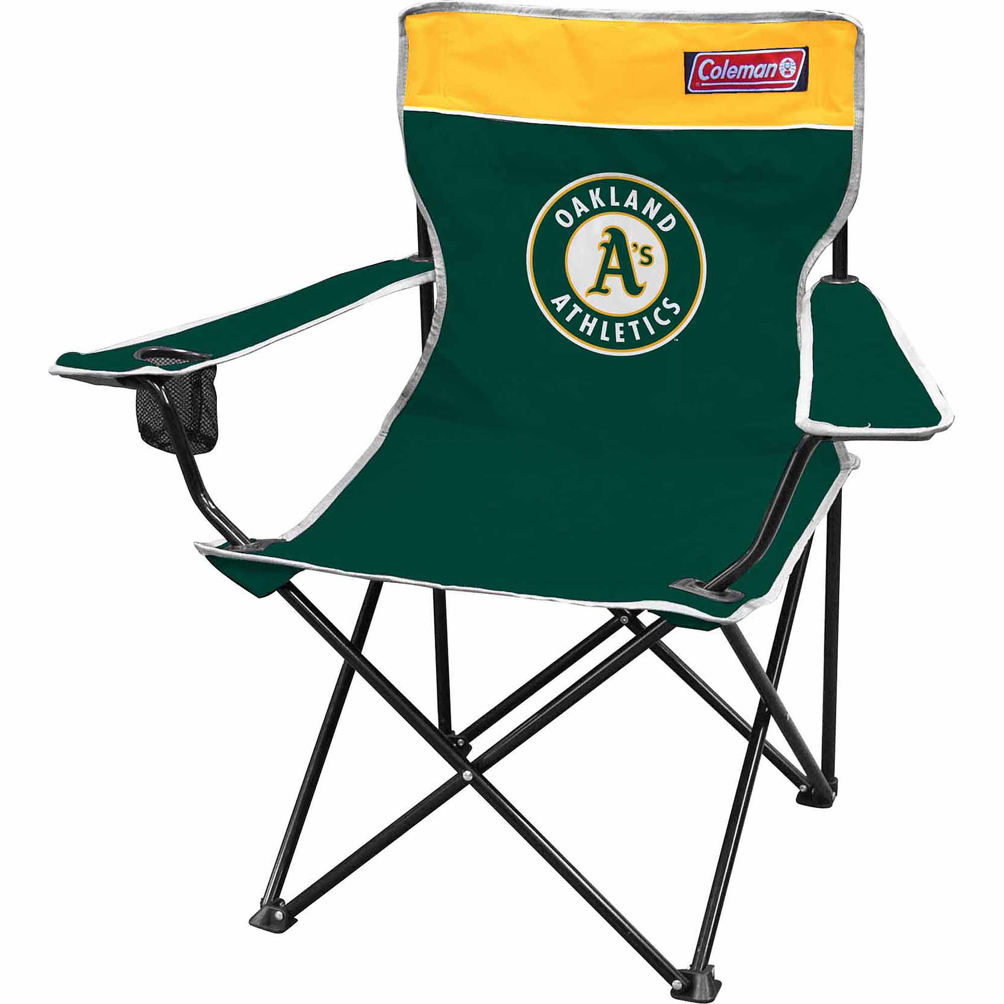 Coleman MLB Oakland Athletics Quad Chair