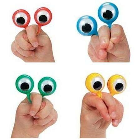 4 Googly Eye Finger ring Puppets (set of 4)