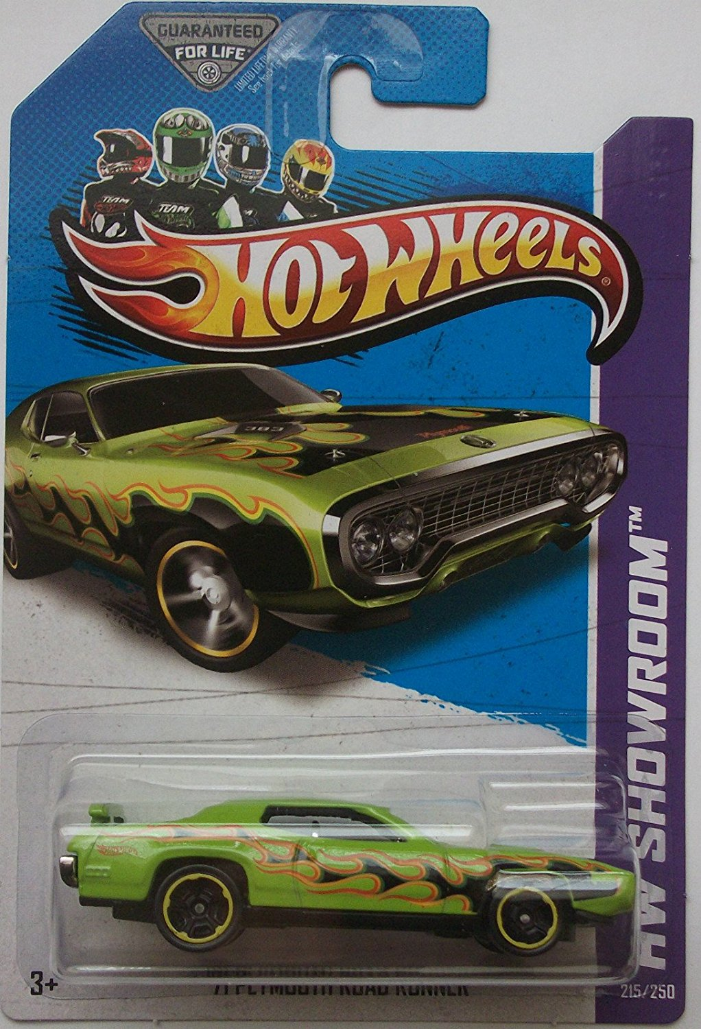 2013 Hot Wheels Hw Showroom Kmart Exclusive '71 Plymouth Roadrunner By Mattel by