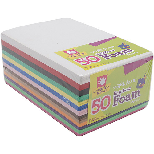 Foam Sheets Rainbow