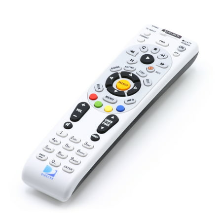 DIRECTV (now AT&T) Replacement Remote Control Bundle with Extra-Long Life Batteries, and Proprietary Code List and Programming Manual, Model RC66RX ()
