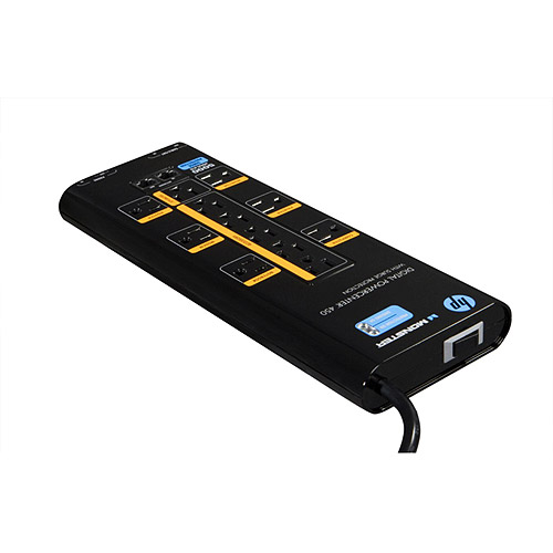 Monster 12-Outlet Digital PowerCenter Surge Protector, 450W