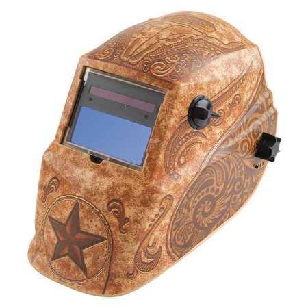 Welding Helmet, Black, Ratchet, Plastic LINCOLN ELECTRIC K4134-1