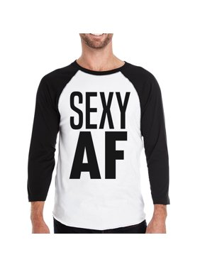 fa44b23ca Product Image Sexy AF Mens Baseball Shirt Funny Graphic Raglan Tshirt Gym  Gifts