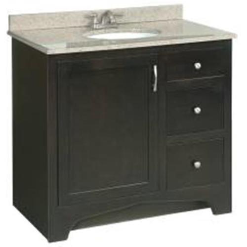 Bathroom Vanity Espresso design house bathroom vanity, espresso, 1 ready-to-assemble door