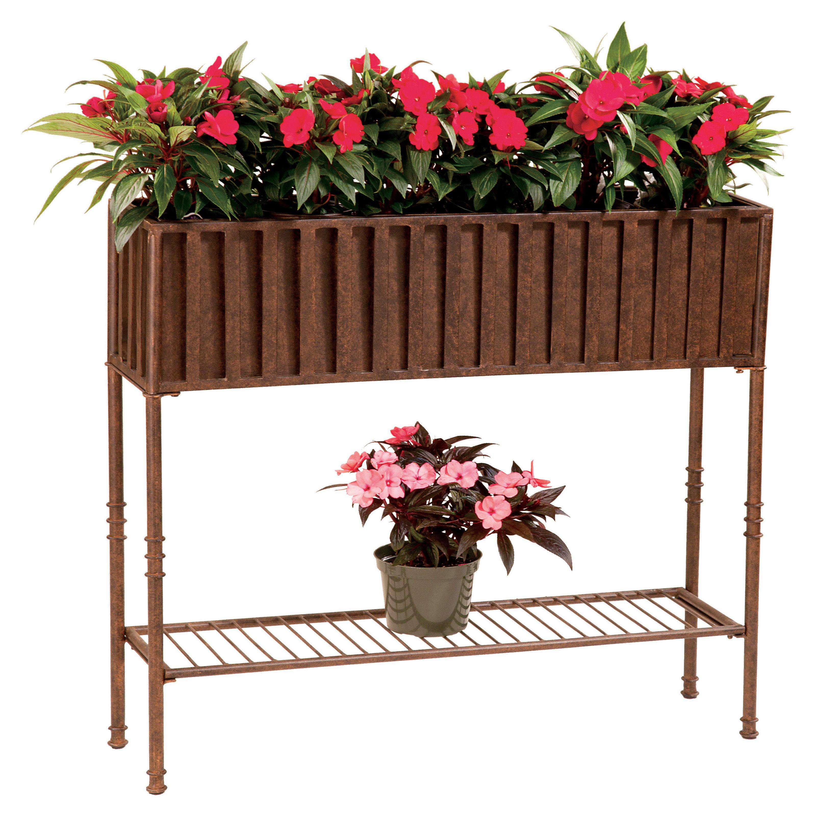 Better Homes And Gardens Dubai 19 Decorative Outdoor Resin Planter Teal
