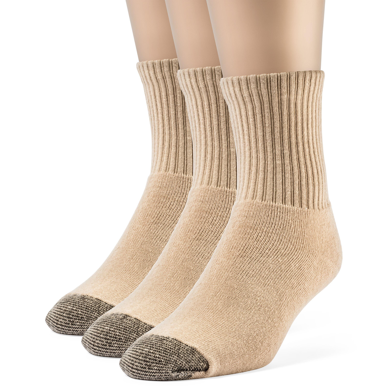 Brand New Women/'s Hanes Premium 6 Pairs White Comfort Crew Socks Shoe Size 8-12