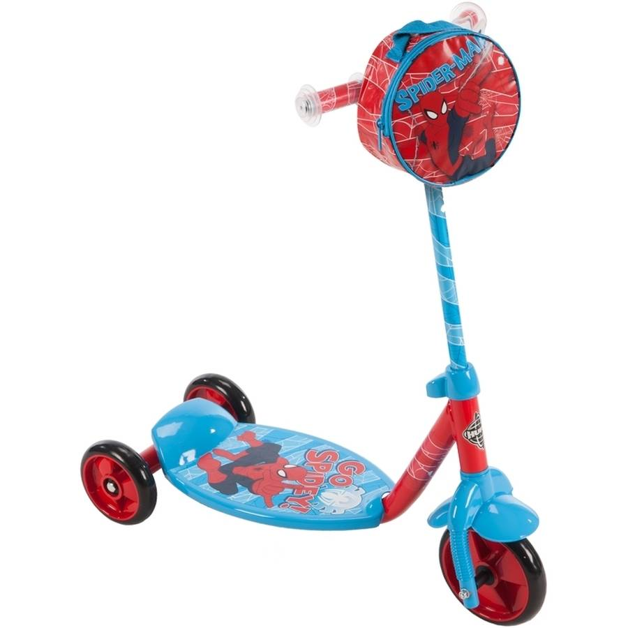 Marvel Spider-Man Boys' 3-Wheel Preschool Scooter by Huffy