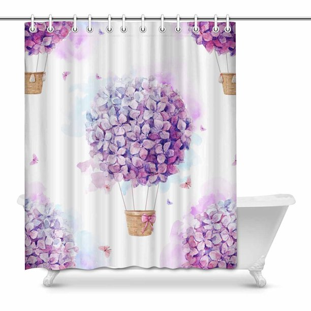 Bathroom Decorative Fabric Bath Curtain