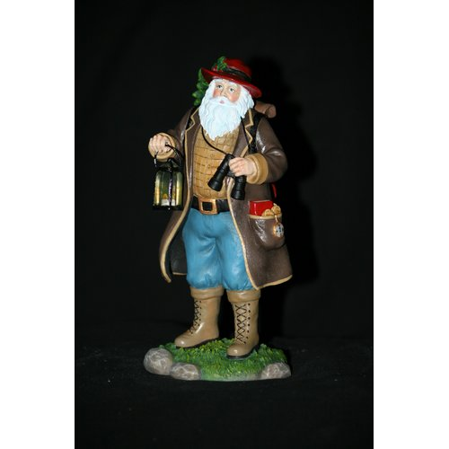 Precious Moments ''Camping Claus'' Camping Santa Figurine by Precious Moments
