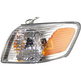 Go-Parts OE Replacement for 2000 - 2001 Toyota Camry Turn Signal Light Assembly / Lens Cover - Front Left (Driver) Side 81520-AA020 TO2530136 Replacement For Toyota Camry Backup Light Left Driver