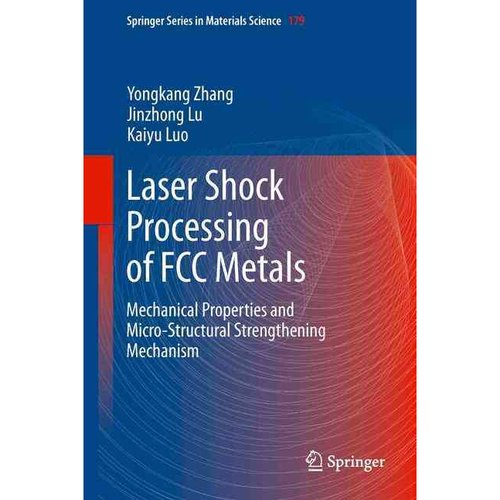 Laser Shock Processing of FCC Metals: Mechanical Properties and Micro-Structural Strengthening Mechanism