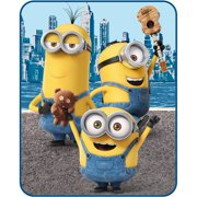 Universal Despicable Me Minions Riverside Silk Touch Throw, 1 Each