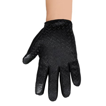 Unisex Ski Gloves Snowboard Gloves Motorcycling Touchscreen Winter Snow Windstopper Outdoor Riding Non-Waterproof Gloves - image 2 of 10