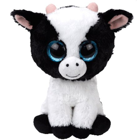 Cow Eye - TY Beanie Boos - Butter  the Cow (Glitter Eyes) Small 6