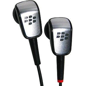 RIM BlackBerry Original 3.5 mm Hybrid In-Ear Stereo Handsfree Headset by BLACKBERRY