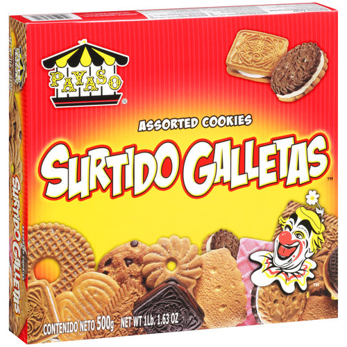 Payaso Surtido Galletas Assorted Cookies, 17.63 oz