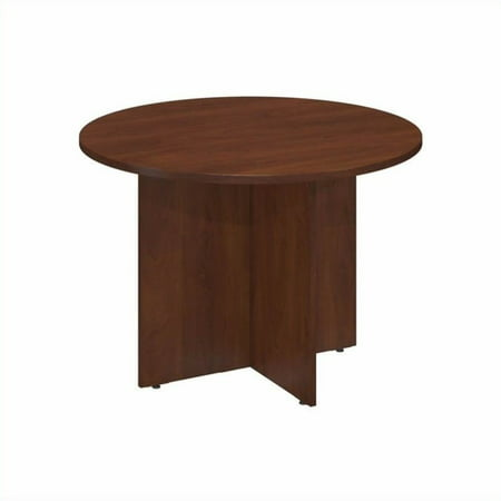 "Bush Business 42"" Round Conference Table in Hansen Cherry - image 6 de 6"