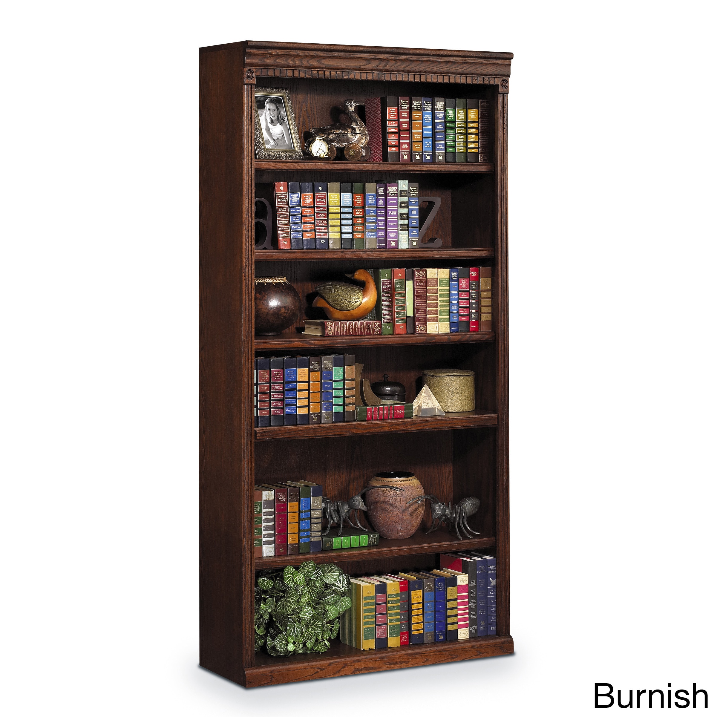 Martin Furniture Havington Overbrook 72-inch Hardwood Open Bookcase