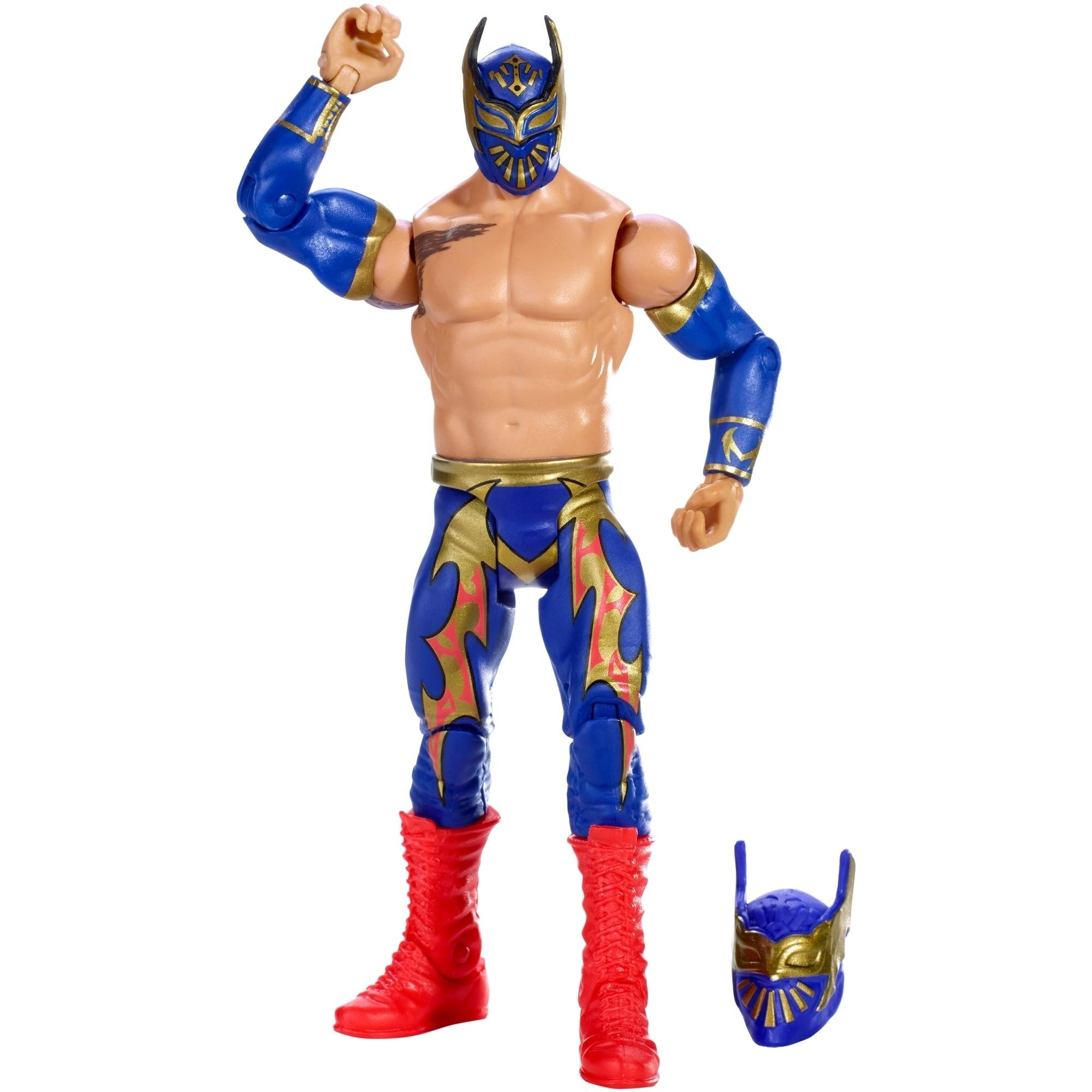 WWE Wrestling Then Now Forever Sin Cara Action Figure