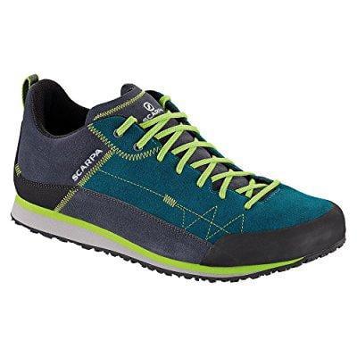 Scarpa Cosmo Shoe   Mens Lake Blue   Green Glow 44