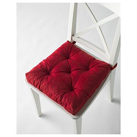 Ikeas MALINDA Chair cushion (4, Red) ()