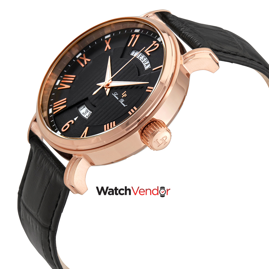 Lucien Piccard Silver Dial Brown Leather Ladies Watch 40054-RG-02S-BRW - image 1 of 2