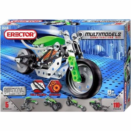 Erector 5 Models Set Motobike