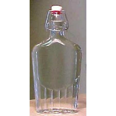 Bormioli Rocco Glass Pilsner Glass - Bormioli Rocco Fiaschetta Glass 17 Ounce Pocket Flask, Set of 12