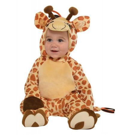 Junior Giraffe Baby Infant Costume - Newborn (Giraffe Baby Halloween Costume)