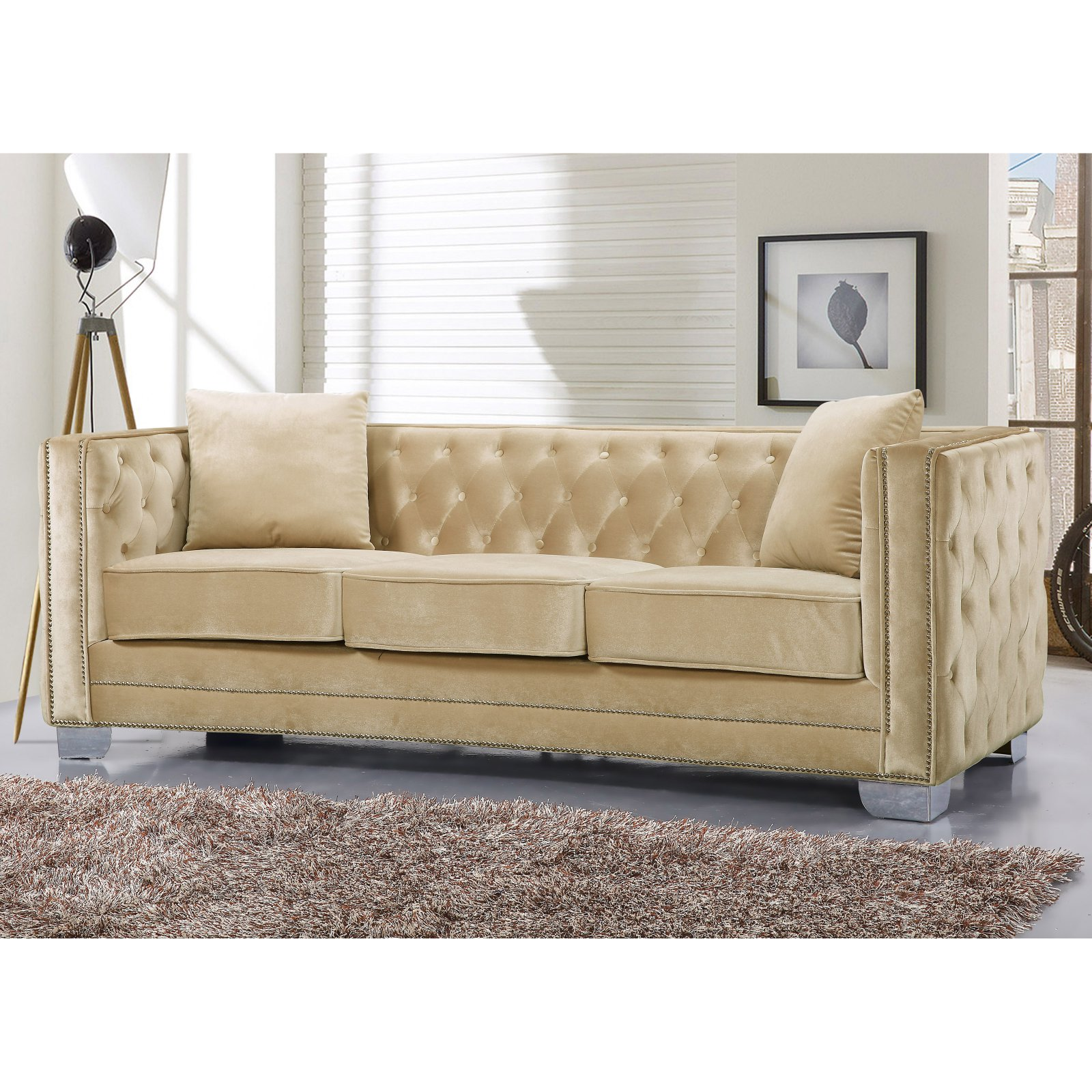 Meridian Furniture Inc Reese Sofa With
