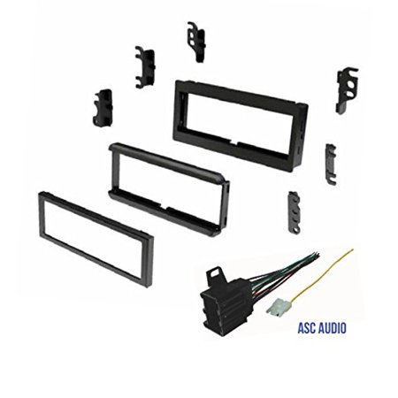 Car Stereo Dash Kit and Wire Harness for Installing a new Single Din Radio for some 1985-1990 Chevrolet Astro, 1982-1989 Chevrolet Blazer , 1982-1989 Chevrolet Camaro, 1982-1987 Chevrolet Cavalier