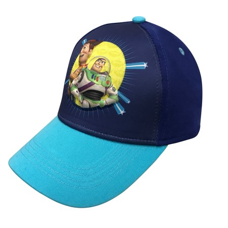 Disney Pixar Toy Story 4 Boys 3D Baseball cap with Tom Hanks and Tim Allen Age 4-7 ()