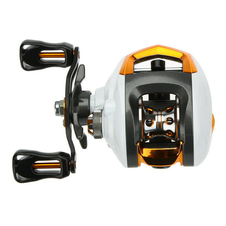 Lixada 12+1 Ball Bearings Baitcasting Reel Fishing Fly High Speed Fishing Reel with Magnetic Brake System Bass Fly Fishing Reel