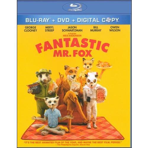 Fantastic Mr. Fox (Blu-ray + DVD) (Widescreen)