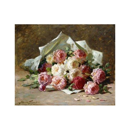 A Bouquet of Roses Print Wall Art By Abbott Fuller